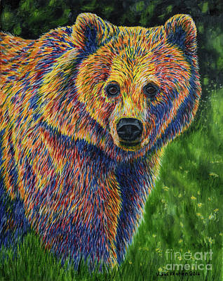 New Born Painting - Bear by Veikko Suikkanen