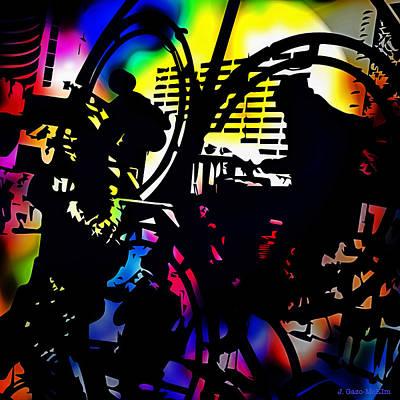 Beat Of The Street Print by Jo-Anne Gazo-McKim