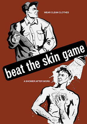 Beat The Skin Game - Ww2 Print by War Is Hell Store