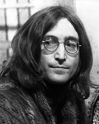 Beatles Photograph - Beatles - John Lennon by Chris Walter