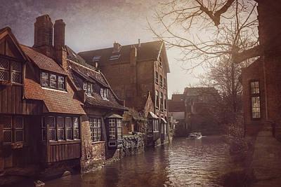 Beauteous Bruges Print by Carol Japp