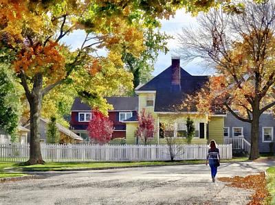 Autumn Photograph - Beautiful Autumn Afternoon by Susan Savad