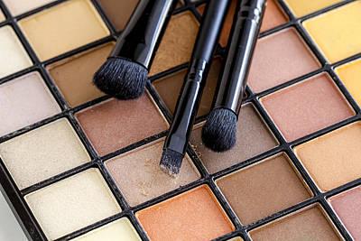 Beautiful Browns For Eyes Print by Teri Virbickis