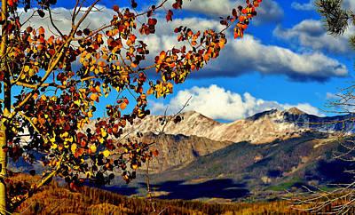 Rocky Mountains Digital Art - Beautiful Colorado by Ellen Heaverlo