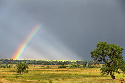 Moody Photograph - Beautiful Countryside Rainbow by James BO Insogna