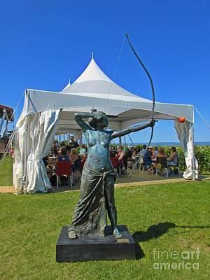 Beautiful Day At The Vineyard Original by John Malone