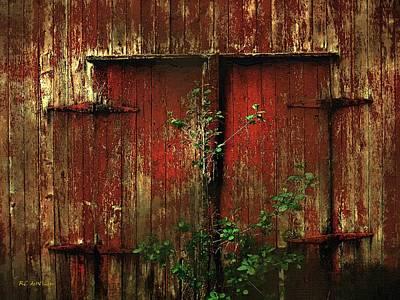 Decrepit Digital Art - Beautiful Decay by RC deWinter