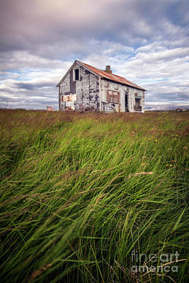 Rural House Photograph - Beautiful Disaster by Evelina Kremsdorf