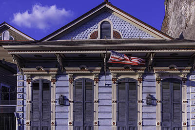 Beautiful House French Quarter Print by Garry Gay