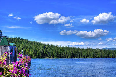 Landscapes Photograph - Beautiful Luby Bay On Priest Lake by David Patterson