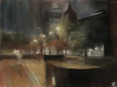 Impressionism Pastel - Beautiful Montreal by Victoria General