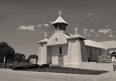 Our Lady Of Guadalupe Photograph - Beautiful New Mexico Church by Gordon Beck