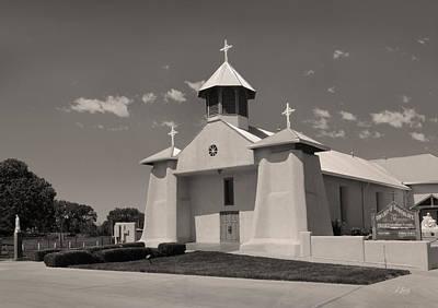 Beautiful New Mexico Church Print by Gordon Beck