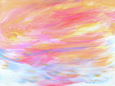 Beautiful Possibilities - Contemporary Art Original by Robyn King