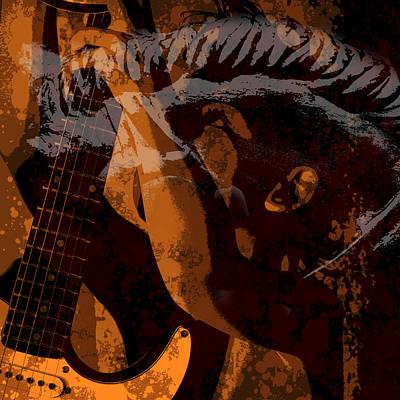 Digital Art - Beautiful Rock Guy by Toppart Sweden