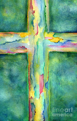 Lent Painting - Beautiful by Ruth Borges