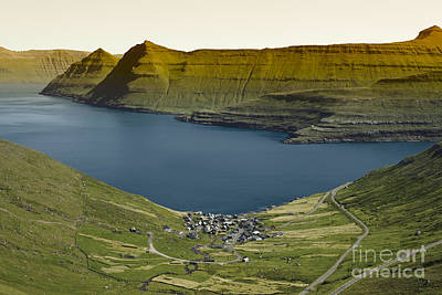 Coast Photograph - Beautiful Scenery On The Faroe Islands by Dani Prints and Images