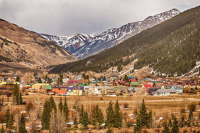 Beautiful Silverton Colorado Print by James BO  Insogna