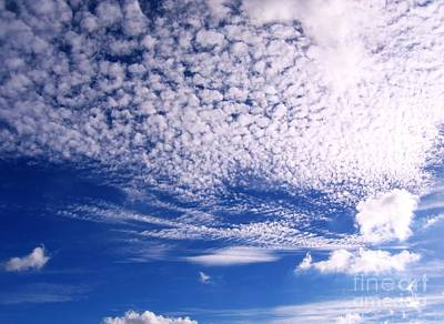 Beautiful Sky And Cloud Formation Print by Yali Shi