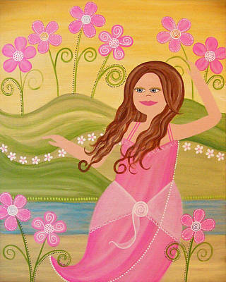 Beauty And The Beach Print by Samantha Shirley