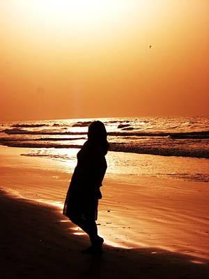 Beauty And The Beach Original by Sunaina Serna Ahluwalia