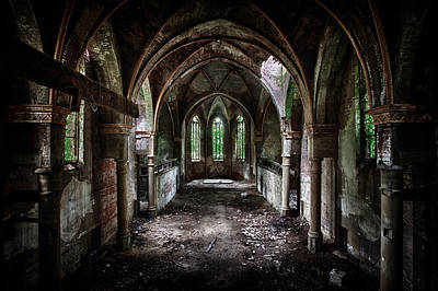 Ruin Photograph - Beauty In Decay by David Van Bael