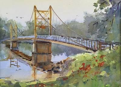 Beaver Bridge Original by Spencer Meagher