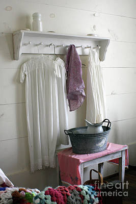 Old House Photograph - Bedtime Washup by Joy Tudor