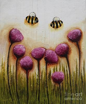 Bee Happy Original by Lucia Stewart