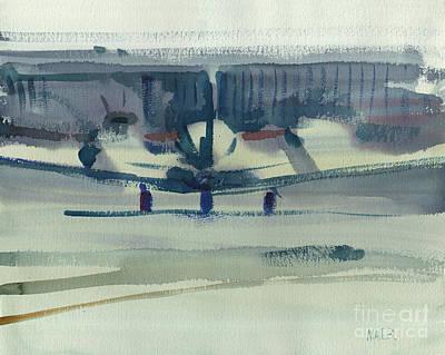 Beechcraft King Air Original by Donald Maier