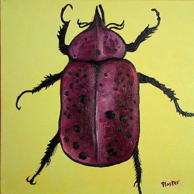 Beetles Painting - Beedles - Ringo by Scott Plaster