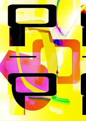Beep Boop Print by Mindy Newman