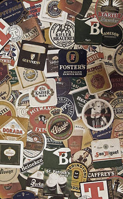 Coaster Photograph - Beers Of The World by Nicklas Gustafsson