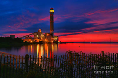 Beesley's Point Sunset Spectacular Print by Adam Jewell
