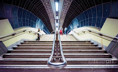 London Tube Mixed Media - Before Rush Hour by Svetlana Sewell