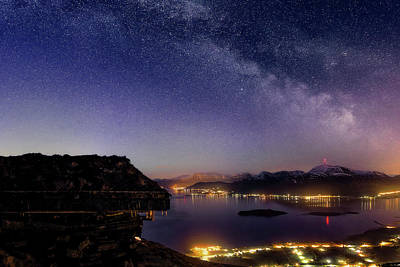 Noruega Photograph - Before The Break Of Dawn by Iwan Groot
