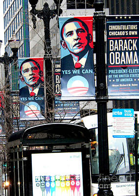 Barack Obama Photograph - Before The Heavy Lifting Begins by David Bearden