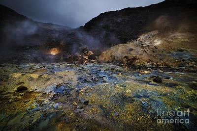 Beginning Of Earth Print by Svetlana Sewell