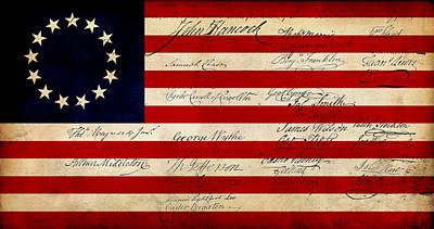 4th July Digital Art - 1776 by WD Senamontri