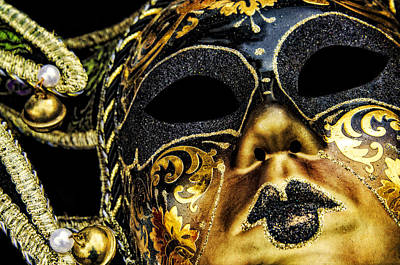Photograph - Behind The Mask by Carolyn Marshall