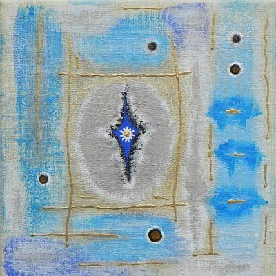 The Universe Painting - Behind The Veils by Sabina Jandura