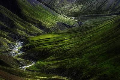 Stream Photograph - Behind The Wallpaper by Kaspars Dzenis