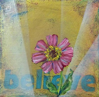 Painting - Believe Zenia by Andrea LaHue