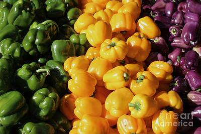Bellpeppers Photograph - Bell Peppers 2 by Robert Wilder Jr