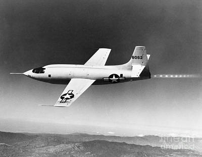 Bell X-1 Us Air Force Plane Print by H. Armstrong Roberts/ClassicStock