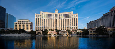 Bellagio Hotel Las Vegas Print by Steve Gadomski