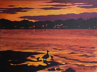 Bellaire Ducks Original by Heidi E  Nelson