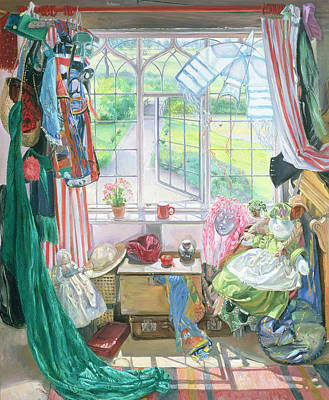 Kites Photograph - Bella's Room by Timothy Easton