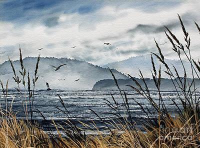 Bellingham Bay Print by James Williamson
