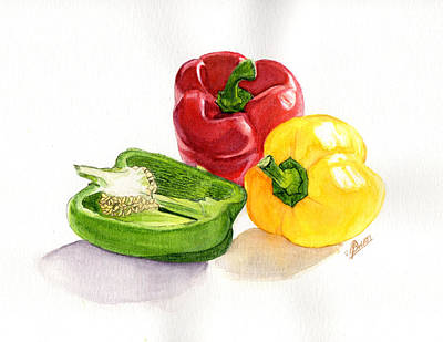 Bellpeppers Painting - Bellpeppers by Swati Singh